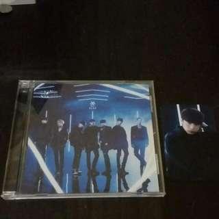 Monsta X Hero Jpn Single regular Cd With Hyungwon pc First Press Rare