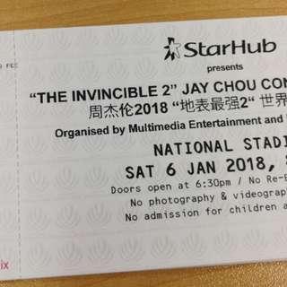 Jay Chou Singapore 2018 Tour