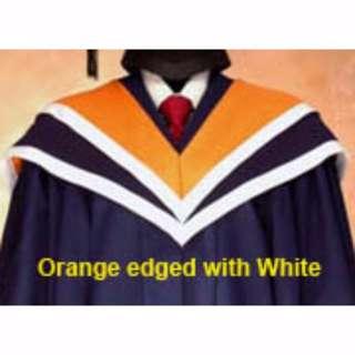 Rent NTU NBS Accountancy Commencement Convocation Graduation Gown Regalia - Rental Only