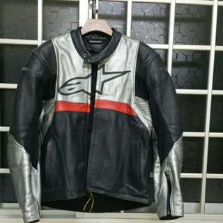 Alpine Star Leather Jacket