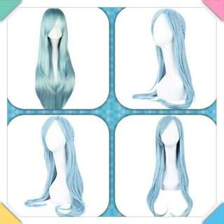 WOMEN LONG LIGHT BLUE NATURAL STRAIGHT FULL WIGS ANIME COSPLAY PARTY FOR SWORD ART ONLINE ASUNA FIGURE 30.00 x 20.00 x 5.00 cm (Pre-Order)