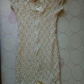 SALE!  PENCIL NUDE DRESS