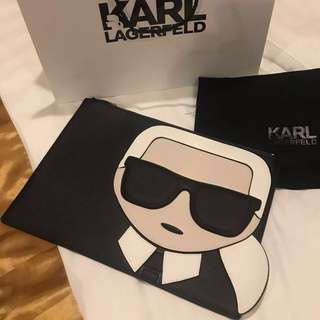 100% Authentic Karl Lagerfeld Clutch bag