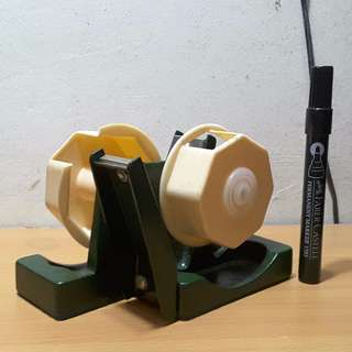 ANTIQUE TAPE Sellotape Dispenser 1960s - 1970s