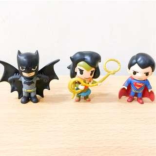 Justice League Mini Figures Set