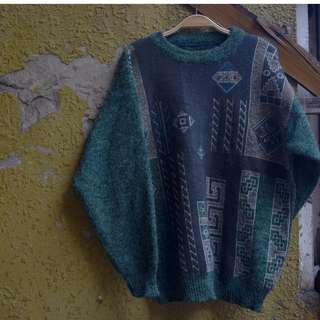 -貳拾貳-Vintage古著毛衣。