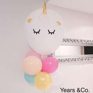 Unicorn Balloon Party