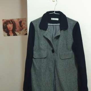 🚚 四四二手集 韓版短大衣   #十月女裝半價