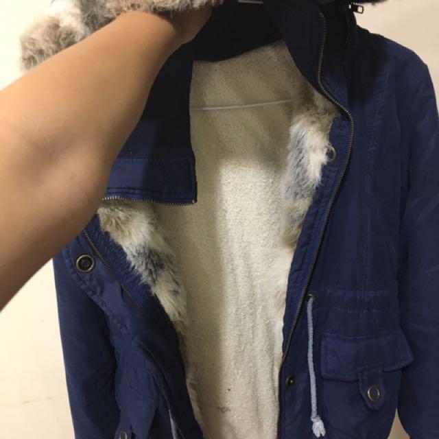 超厚舒服棉冬天外套大衣