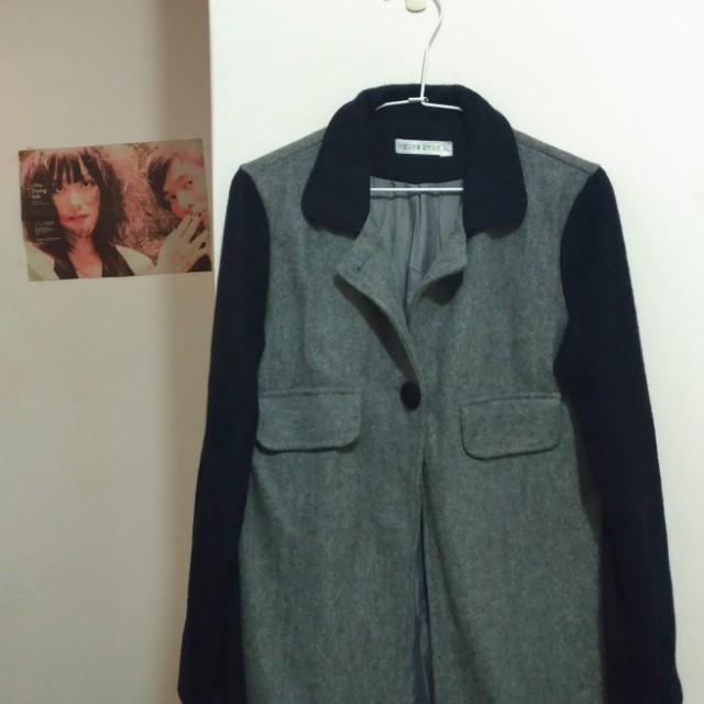 四四二手集 韓版短大衣   #我的女裝可超取