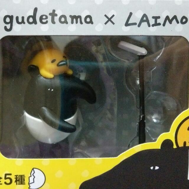蛋黃哥 馬來貘 聯名 公仔 研達 懶得笑 Laimo Gudetama #手滑買太多