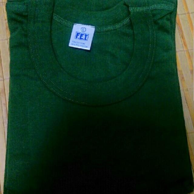 新訓內衣 綠色短T L