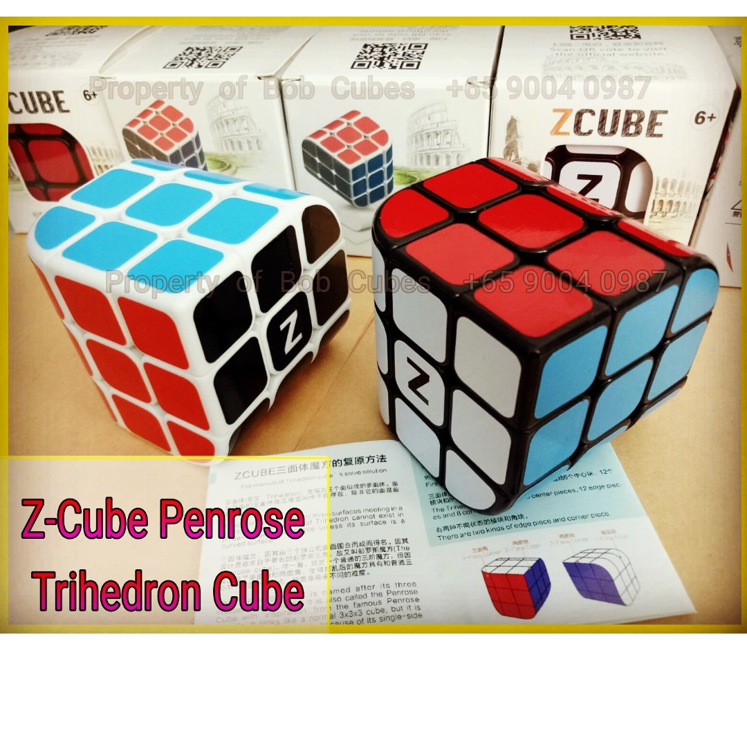 - Z-Cube Penrose Trihedron for sale ! Brand New  Challenging Cube