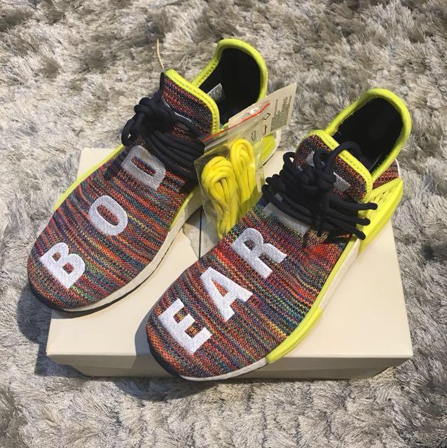 f680141be Adidas NMD Pharrell Human Race Multicolor UK8 US8.5