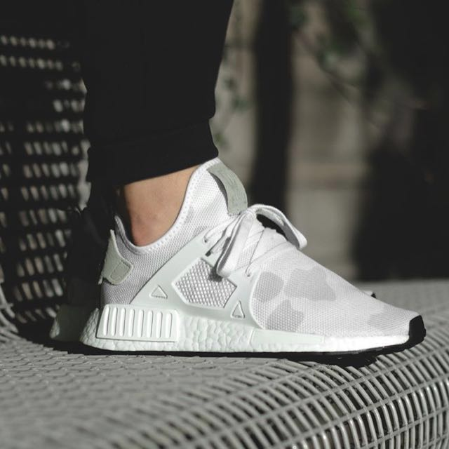 best service b5fc7 f9853 ADIDAS NMD XR1 White Camo (worth of MYR 780)