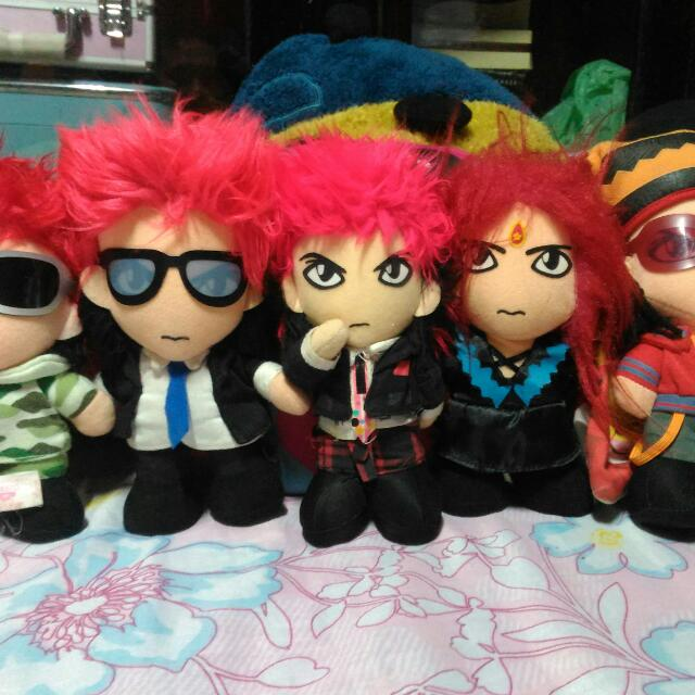 Anime Stuffed Toys, From Japan