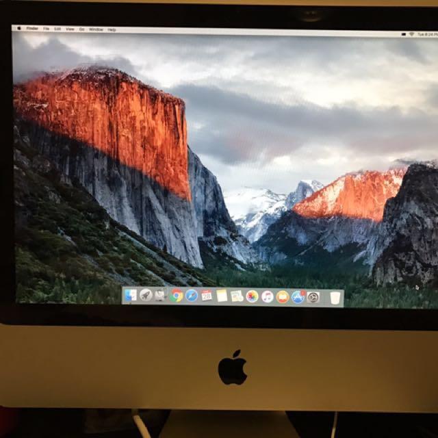 Apple iMac 20 Inch Mid 2007 OS X El Caption 250GB