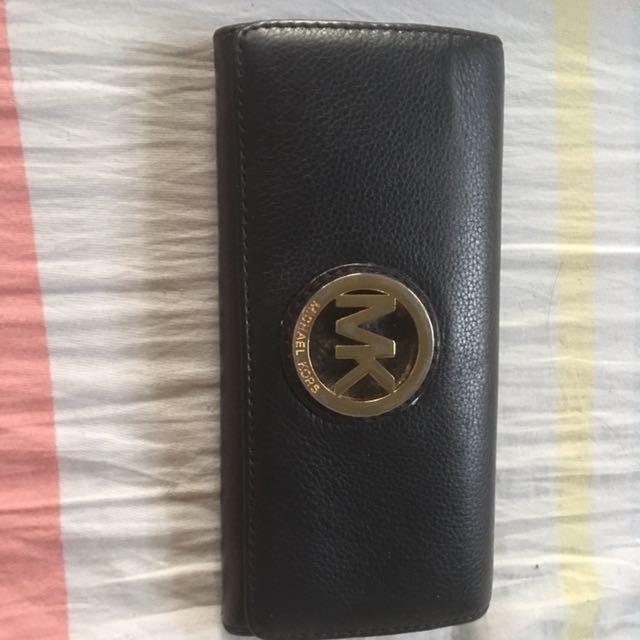 Authentic MK long wallet