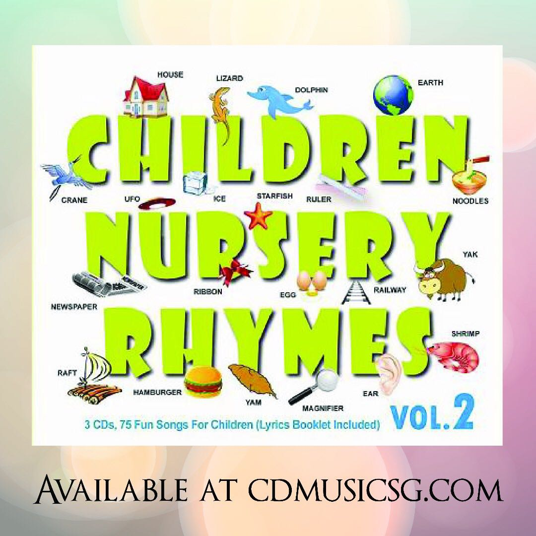 Babies Cd Children Nursery Rhymes Vol 2 Kids On Carou