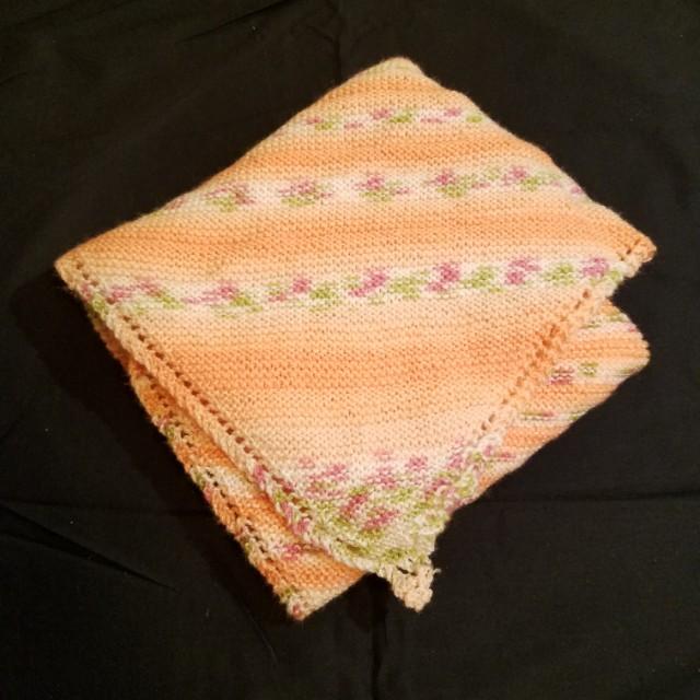 Baby yarn Blanket
