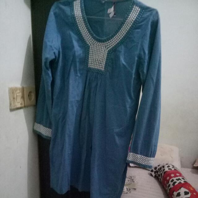 Baju Muslim Bordir + Payet