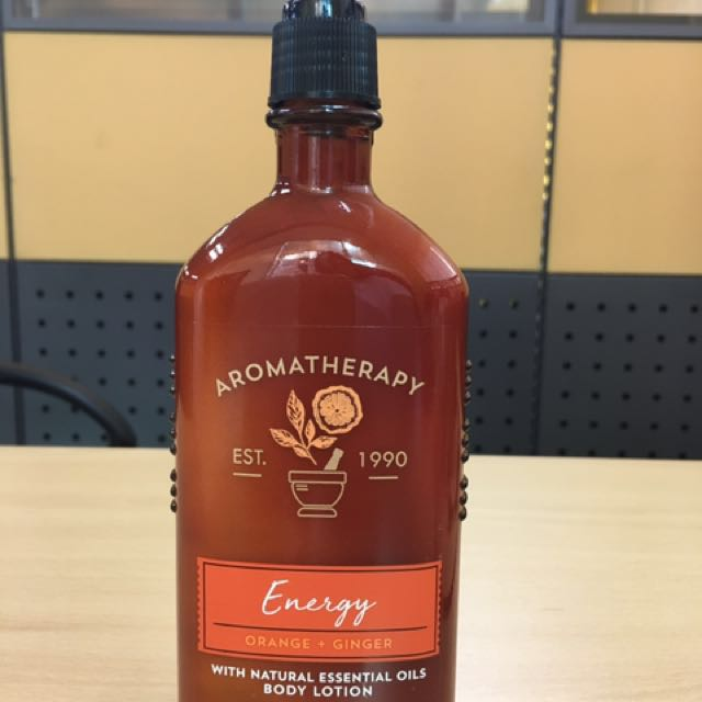 Bath and body works Aromatherapy lotion - energy