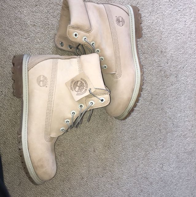 BEIGE TIMBERLANDS CHEAP