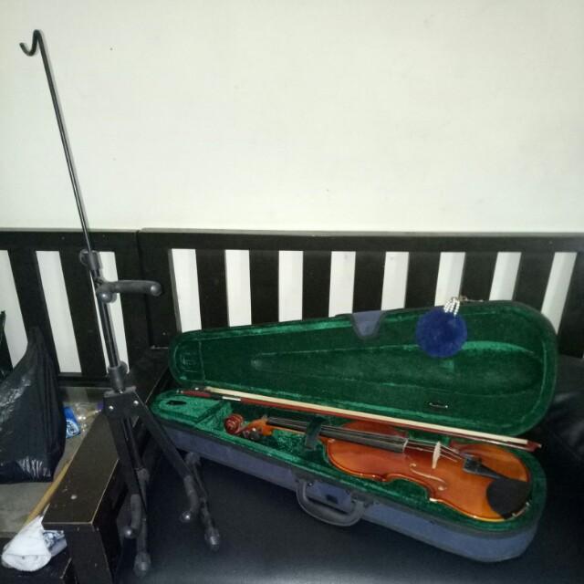 BIOLA VIOLIN SKYLARK 4/4 free stand violin