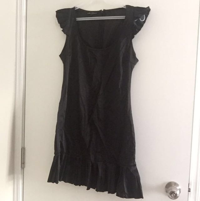 Black Ruffled Dress (from Canada)