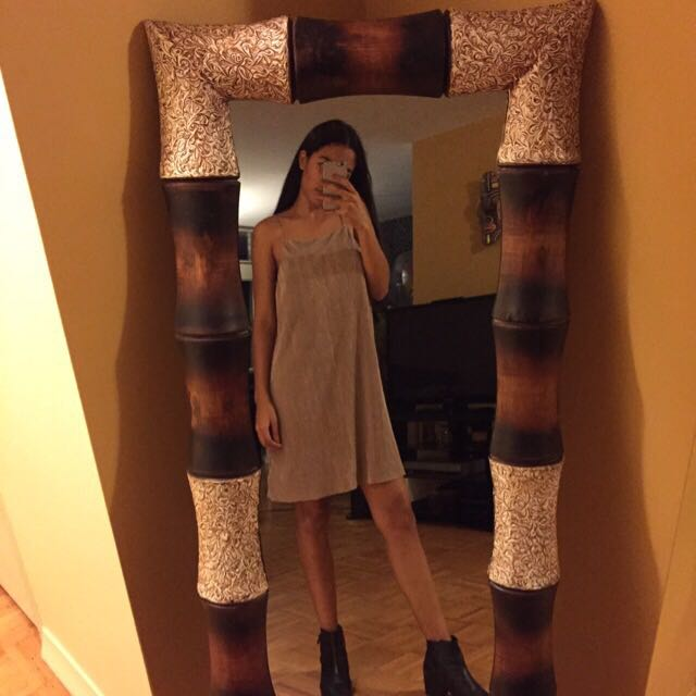 BNWT Urban Outfitters Champagne Pink Dress