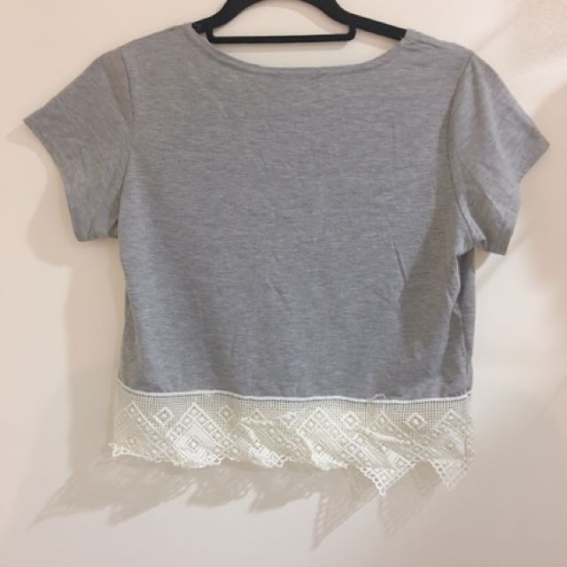 BOOHOO - LOOSE CROP TOP