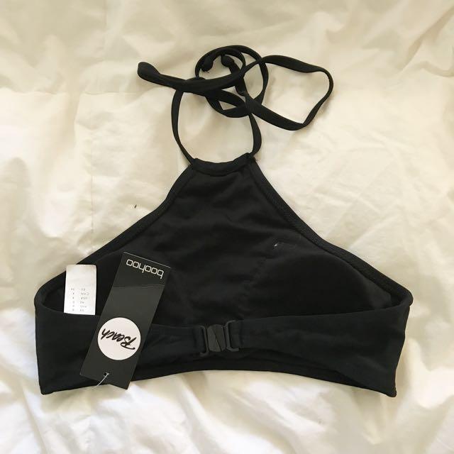BOOHOO || swim halter bikini