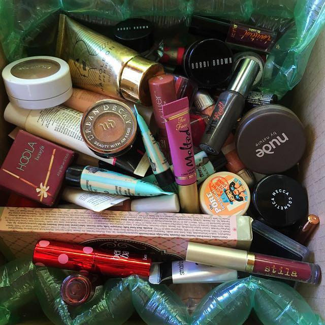 Box of beauty stuff