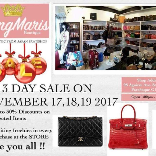 Branded bags sale