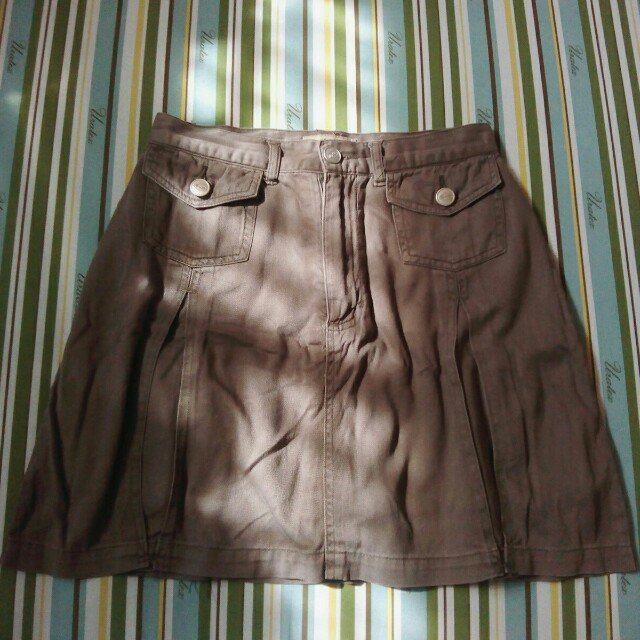 Repriced! Brown HW Skirt Kong Loon (26)