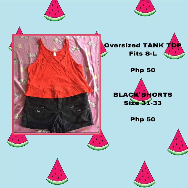 Bundle tank top and shorts