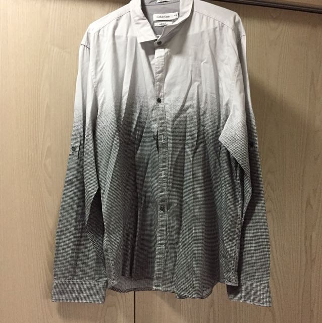 Calvin Klein男生長䄂襯衫
