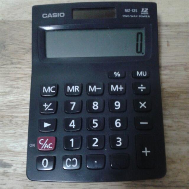 Casio Manual Calculator
