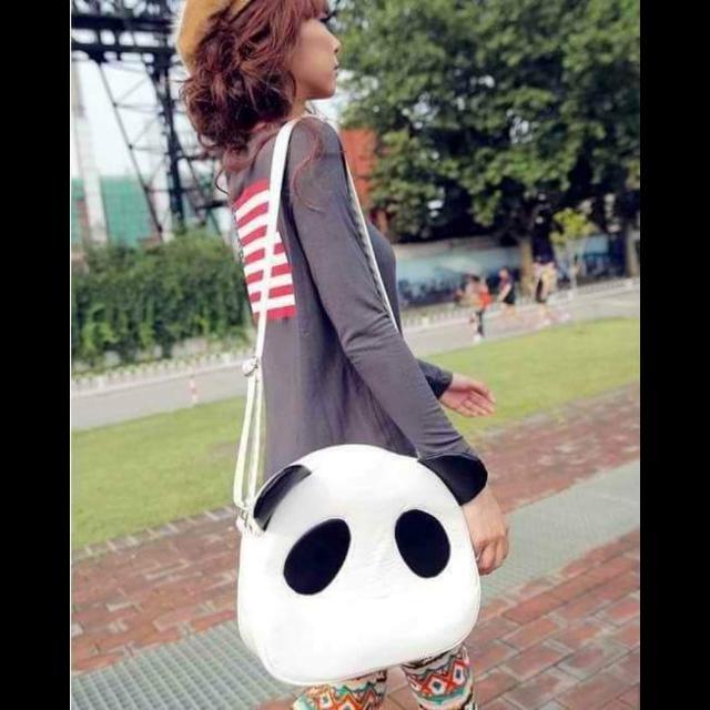 Casual Panda Shoulder Bag
