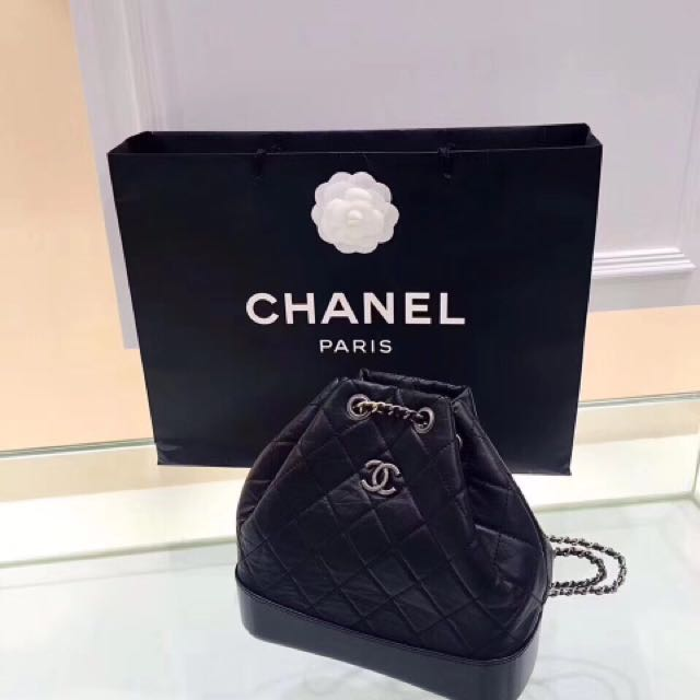 87ebd2f7f41d Chanel Gabrielle Backpack in black