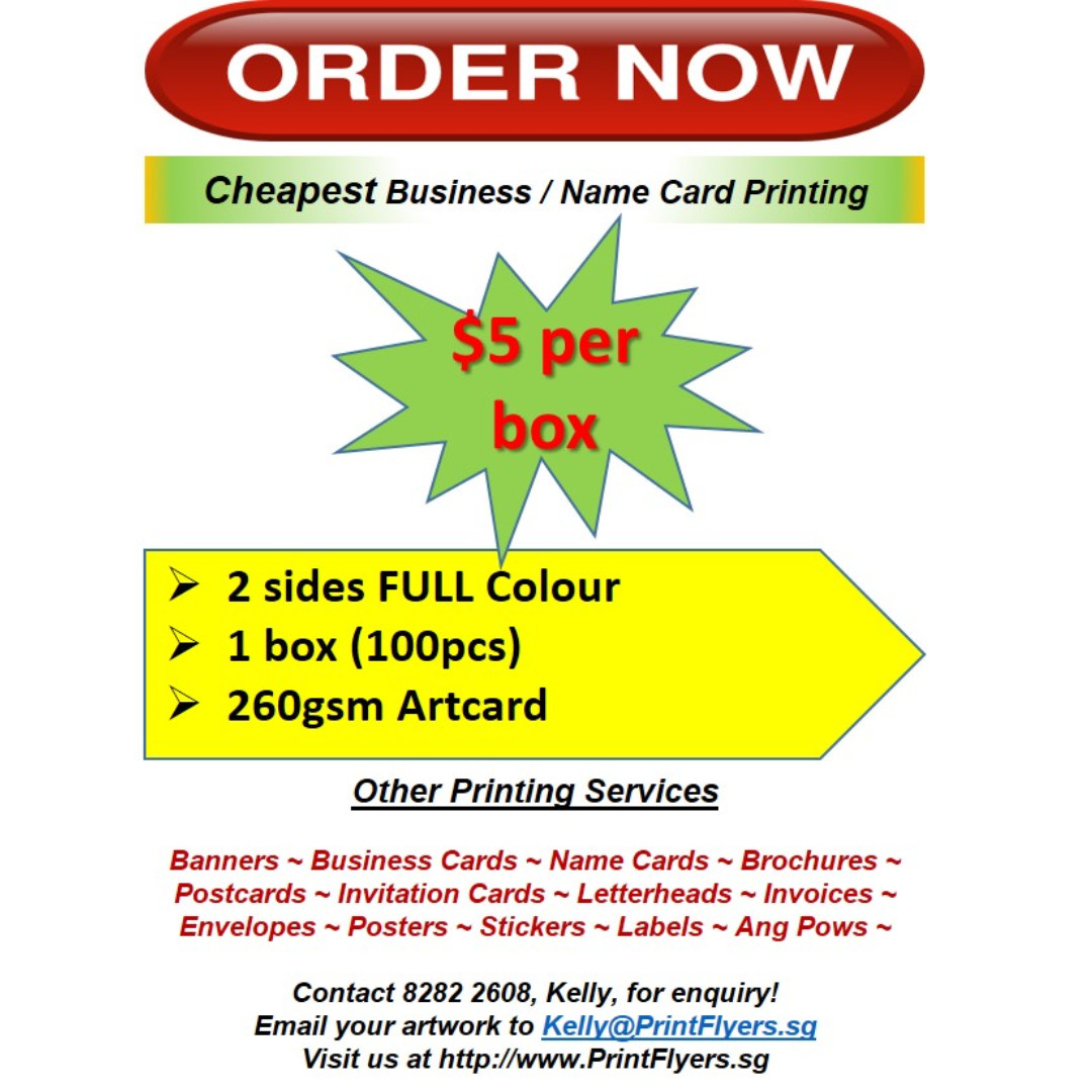 Cheapest name card business card printing home services others photo photo photo reheart Gallery
