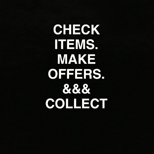 CHECK ITEMS