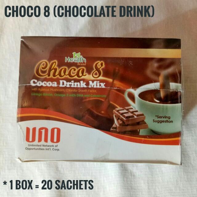 CHOCO 8 (Chocolate Drink)