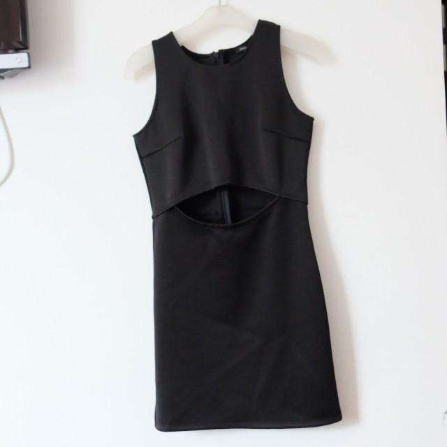 Cloth Inc Black Club Dress