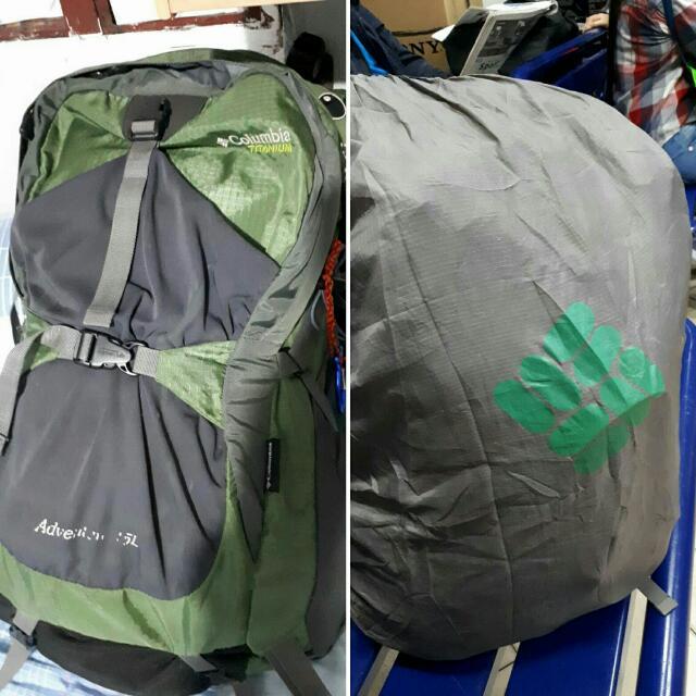 Columbia Trek Bag With Rain Cover