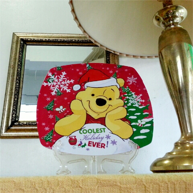 Cookie Plate Pooh Coolest Holiday Ever