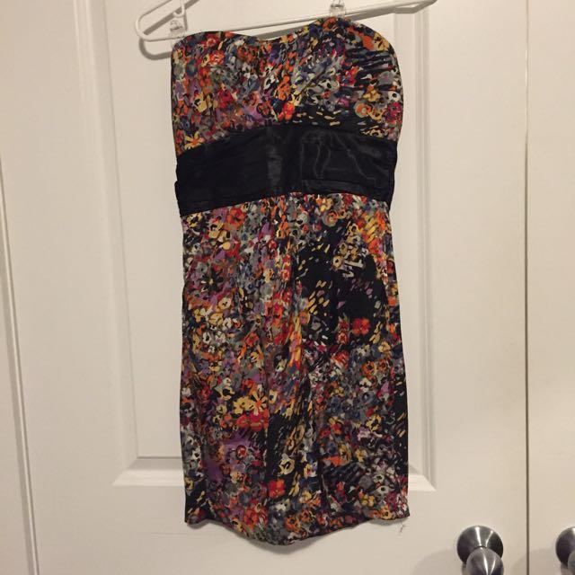 Costa Blanca strapless dress