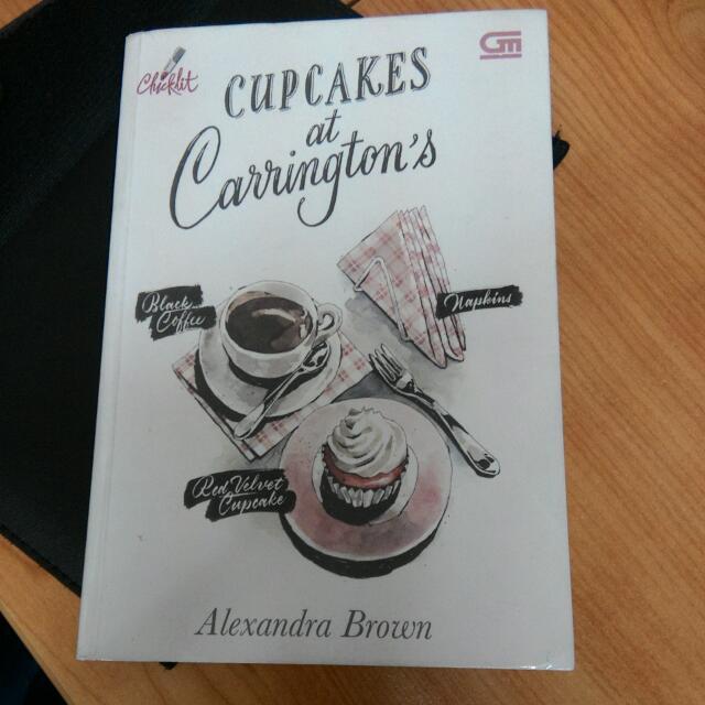 Cupcakes at Carrington's (Alexandra Brown)