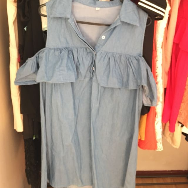 Denim like dress Size 12