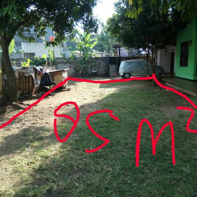 Dijual tanah 85meter kp rw barat  belakang maleo Bintaro